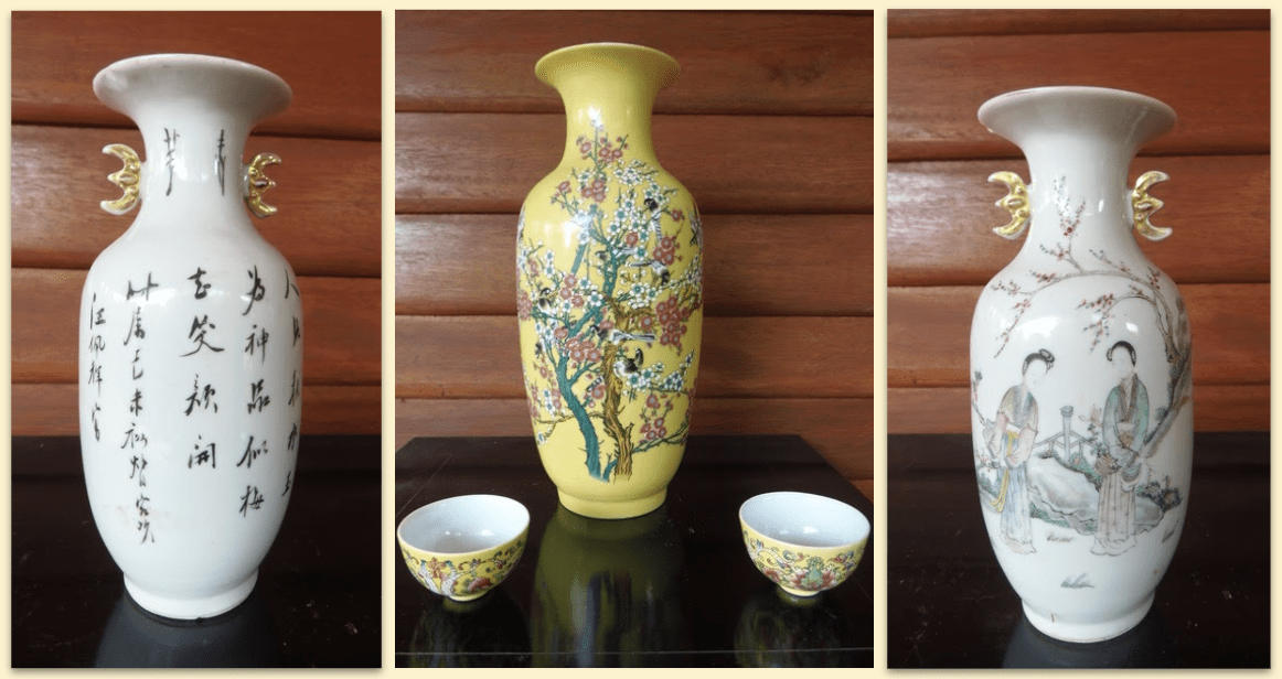 Great Qing's Colorful Porcelain; Treasures of Value through Time